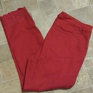 Talbot's slim ankle pants size 8